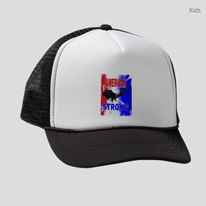 AMERICAN STRONG Kids Trucker hat