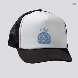 My Aunt Is Getting Married I Funn Kids Trucker Hat