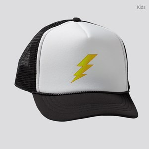 lightning bolt Kids Trucker hat