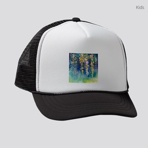Floral Painting Kids Trucker hat