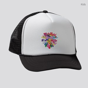 MLP Girls Rule! Dark Kids Trucker hat