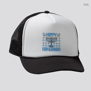 Happy Hanukkah Kids Trucker hat
