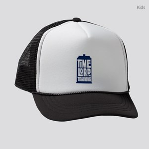 Time Lord In Training Kids Trucker hat