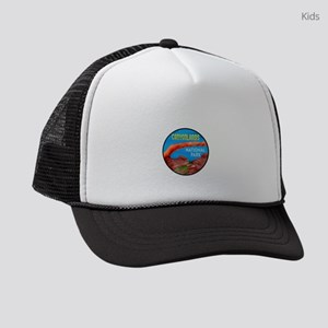 AMAZING TO VISIT Kids Trucker hat