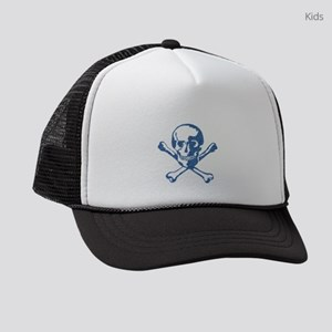 SKULL & CROSSBONES Kids Trucker hat