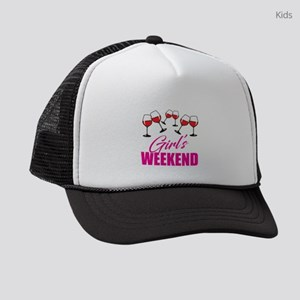 Girl's Weekend Party Gear Kids Trucker hat