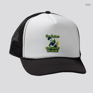 90210 Dylan You Know the Drill Kids Trucker hat