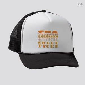 CNA Getting You Sheet Faced Hallo Kids Trucker hat