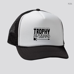 Trophy Husband Kids Trucker hat