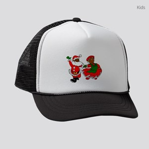 black santa mrs claus Kids Trucker hat