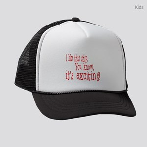 This is Exciting! Kids Trucker hat