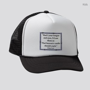 Had I Your Tongue Kids Trucker hat