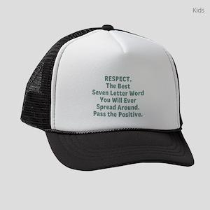 Respect Kids Trucker Hats - CafePress Respect Hat Kid