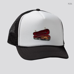 HaveViolinTravel081210 Kids Trucker hat