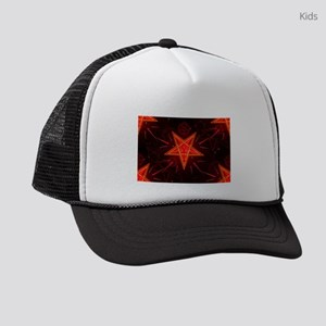 neon demon Kids Trucker hat