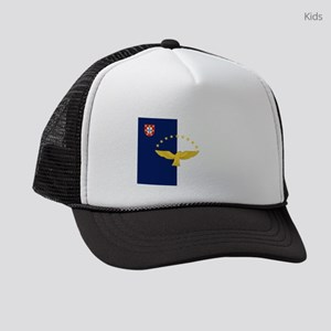 Flag of Azores Kids Trucker hat
