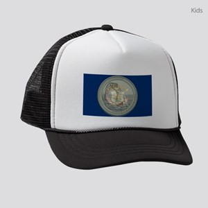 Utah Quarter 2014 Kids Trucker hat