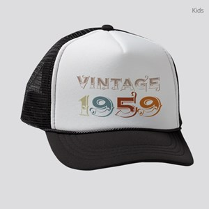 60th Birthday Celebration Gift 19 Kids Trucker hat