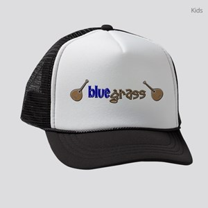 bluegrass musician Kids Trucker hat