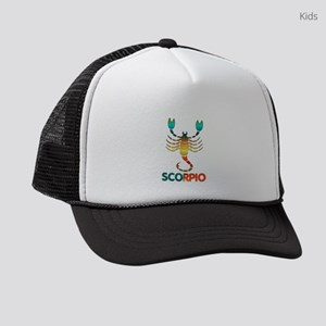 Rainbow Scorpio Kids Trucker hat