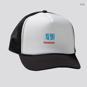 Air Traffic Controller We Rule Th Kids Trucker hat