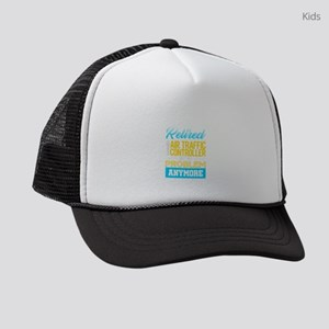 Funny Retired Air Traffic Control Kids Trucker hat