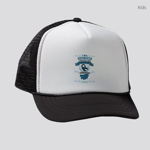 I'm a Scorpio Kids Trucker hat