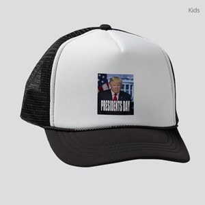 Presidents Day Kids Trucker hat