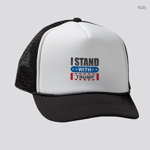 I Stand with Trump Kids Trucker hat