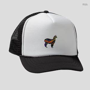 62aeb64f2f2 Peru Kids Trucker Hats - CafePress