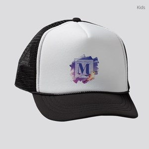 MONOGRAM Artistic Hummingbird Kids Trucker hat