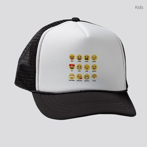 Emoji Horoscopes Kids Trucker hat