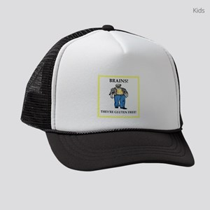 A funny joke Kids Trucker hat