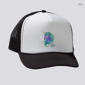 Beautiful Unicorn Kids Trucker hat