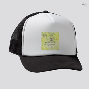 Shakespeare humorous quote Kids Trucker hat