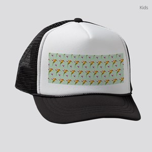 Repeating Hummingbirds Kids Trucker hat