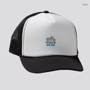 Biker Dude Kids Trucker hat