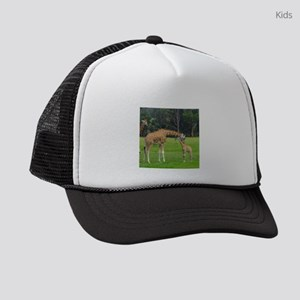Baby Giraffe Kids Trucker hat