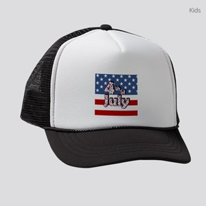 4th of July Independence Day Kids Trucker hat