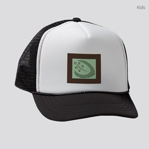 Coffee...always a good idea Kids Trucker hat