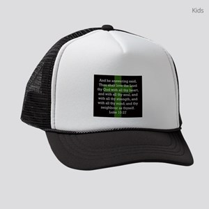 Luke 10:27 Kids Trucker hat