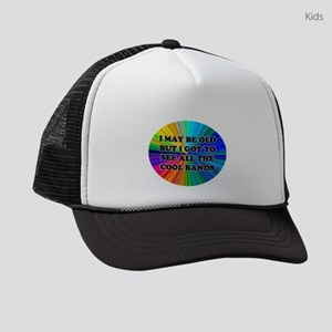 All The Cool Bands Kids Trucker hat