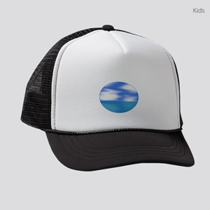 OCEAN BREEZE Kids Trucker hat