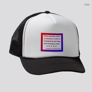 When fascism comes to America Kids Trucker hat