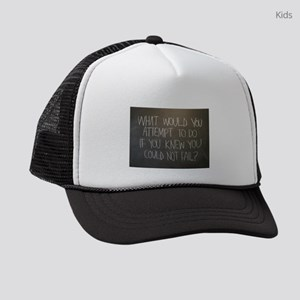 What would you attempt Kids Trucker hat