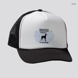 FIN-greyhounds-heaven Kids Trucker hat
