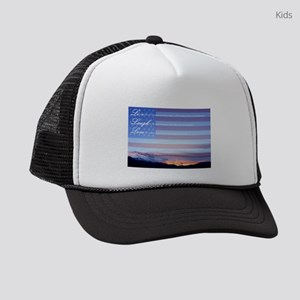 Live, Laugh, Love Kids Trucker hat