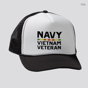 U.S. Navy Vietnam Veteran Kids Trucker hat