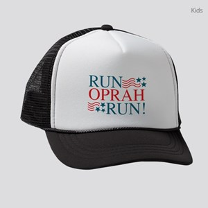 Run Oprah Run! Kids Trucker hat