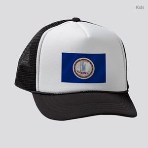 Virginia State Flag Kids Trucker hat